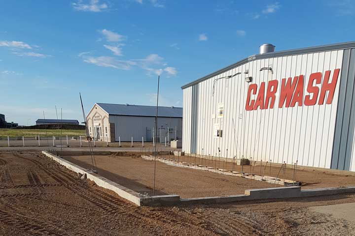 Bob Nelson Construction does AutoSpa Grade Beam and Trench