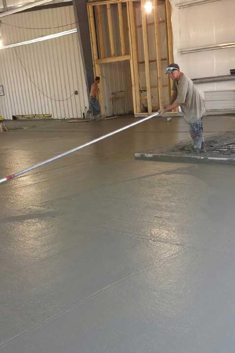 Bob Nelson Concrete Finishing CK Floor
