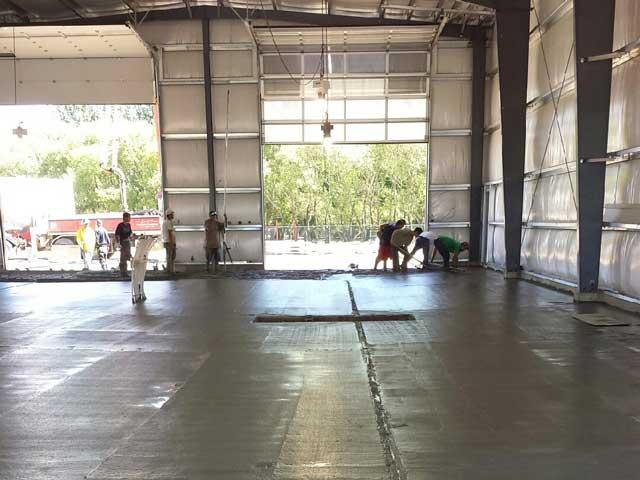 Bob Nelson Construction prepping CK Building